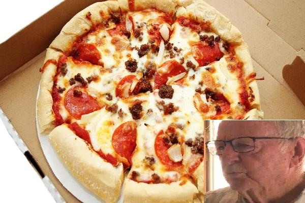 89 year old pizza delivery boy  tip