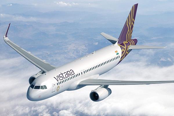 vistara congratulates the number of flights