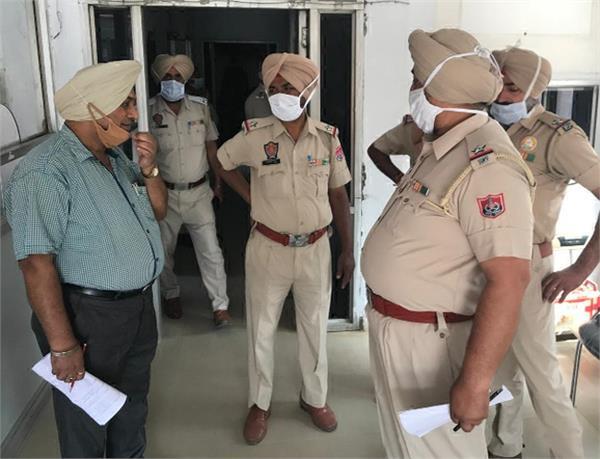 jalandhar traffic police transfer sub inspector