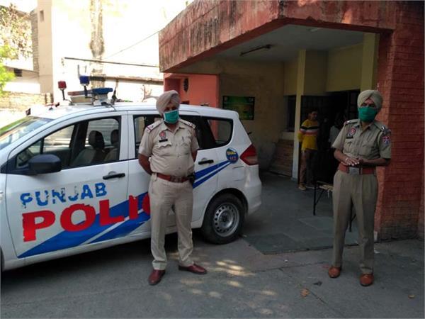 gun fire jalandhar police line