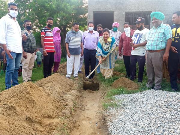 nimisha mehta congress visit vilaage kitna garhshankar