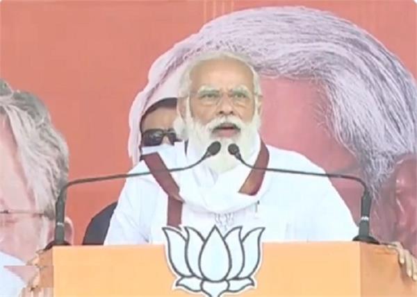 narendra modi addresses rally in darbhanga