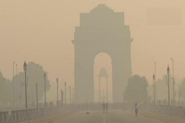 delhi coronavirus pollution air severe category
