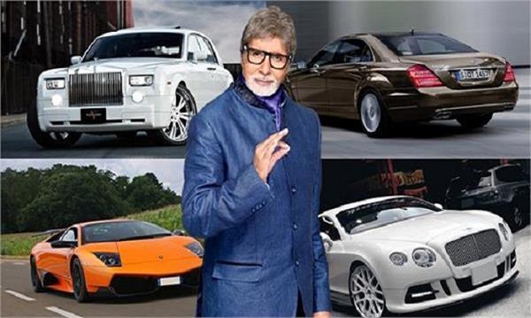 birthday special   amitabh bachchan luxury cars