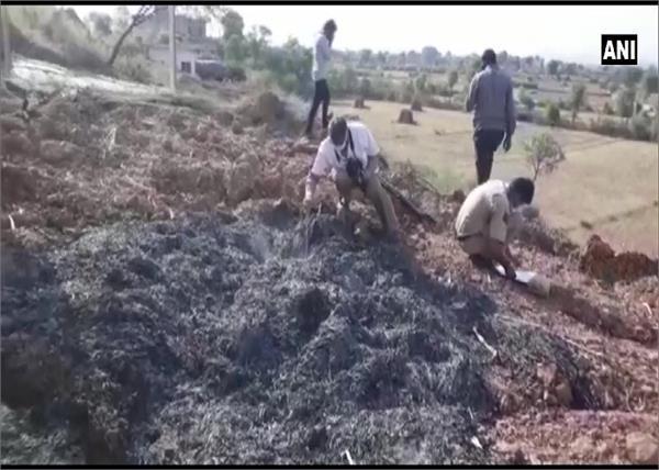 rajasthan land priest petrol fire death