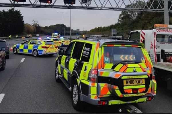 london  road accidents
