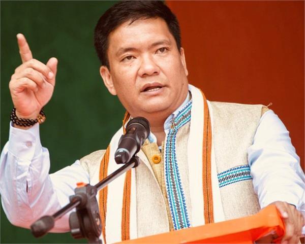 arunachal pradesh chief minister pema khandu china warns