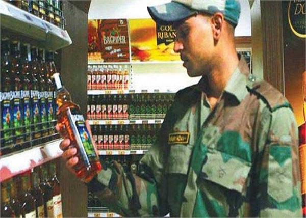 india bans imported goods in army canteen may include liquor