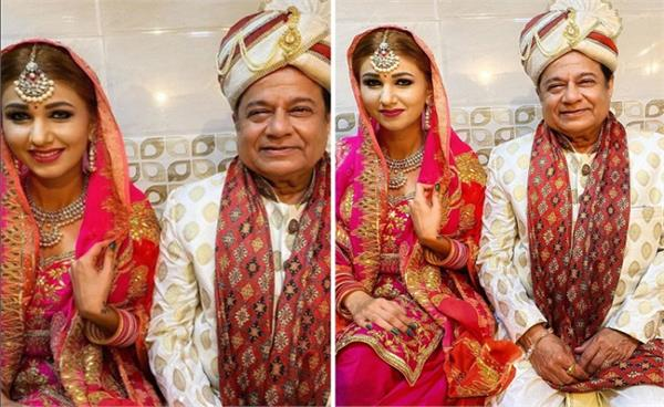 anup jalota and jasleen matharu s wedding pictures