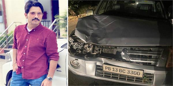 punjabi singer jass bajwa road accident