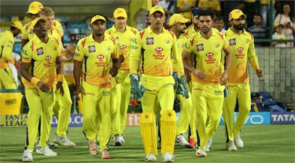 ipl2020 chennai could be a big disaster for kolkata play offs