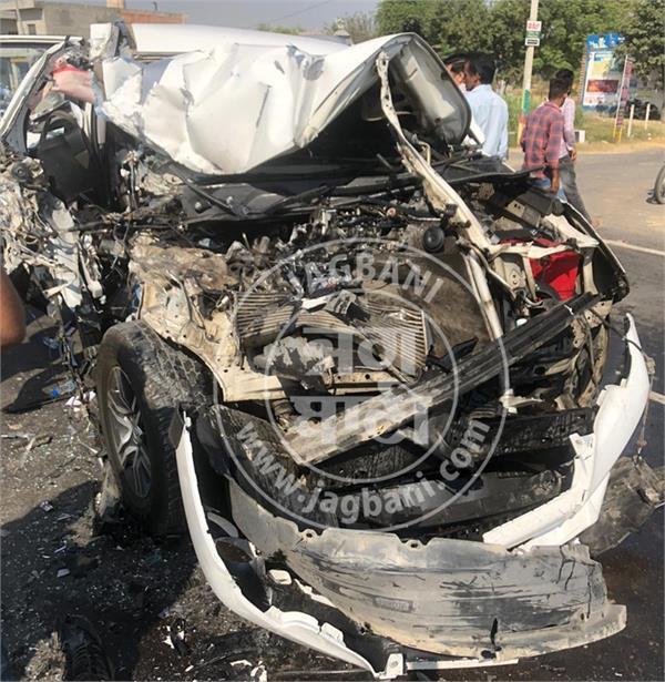 congress mla sushil rinku accident
