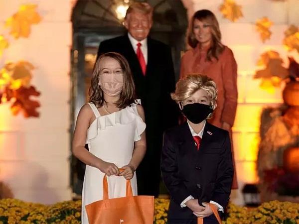 donald trump and melania trump children