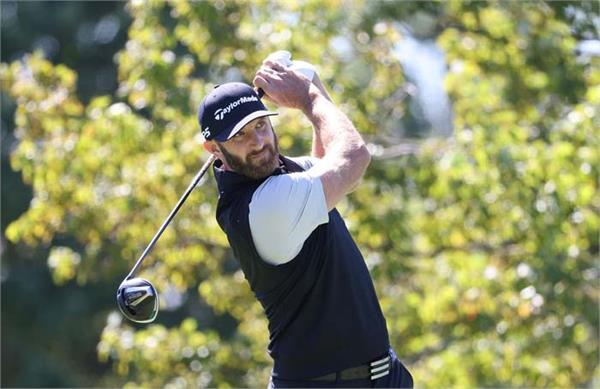 world no 1 golfer dustin johnson tests positive for covid 19