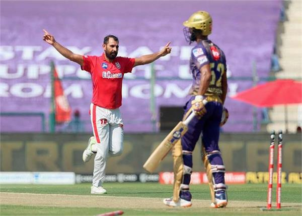 ipl 2020  mohammed shami joins 50 wicket club
