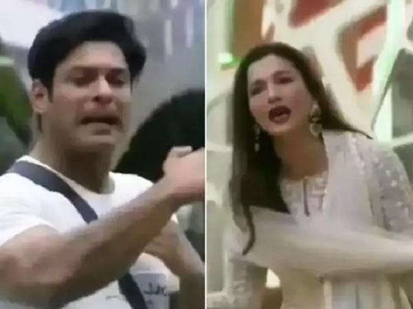 bigg boss fight sidharth shukla and gauahar khan