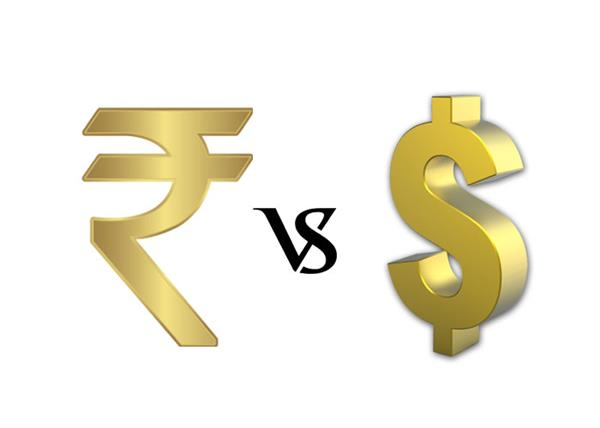 nris dollor falls against rupee