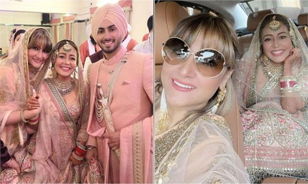 urvashi dholakia shares unseen pics from neha rohanpreet wedding