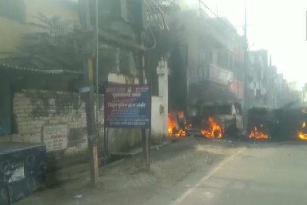 bihar youth death violence election commission police firing