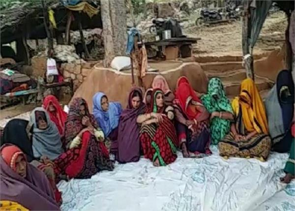 rajasthan priest family dharna ended gehlot government