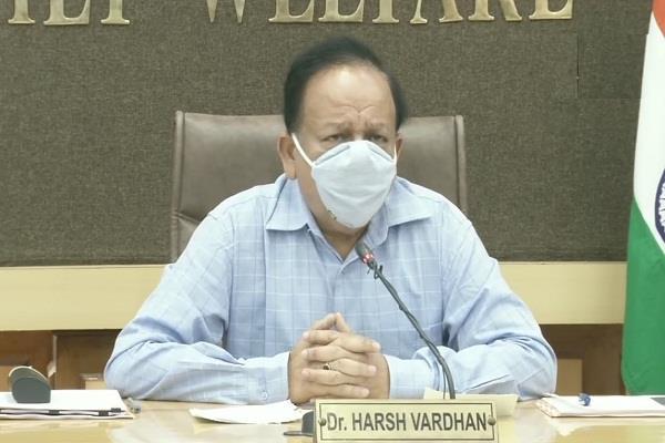 union health minister statement corona vaccine