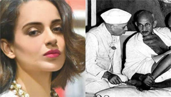 sardar patel  kangana alleges gandhi wanted   weaker mind   like nehru as pm