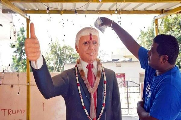 donald trump fan bussa krishna dies of cardiac arrest