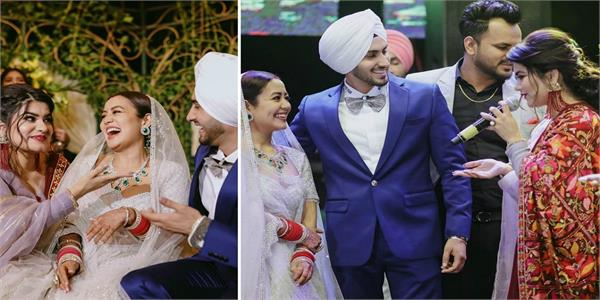 singer kaur b neharohu wedding reception
