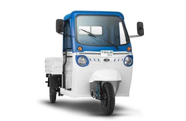 mahindra treo zor electric cargo 3 wheeler launched in india
