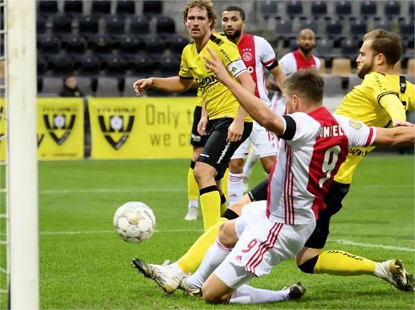 ajax dutch football league new record