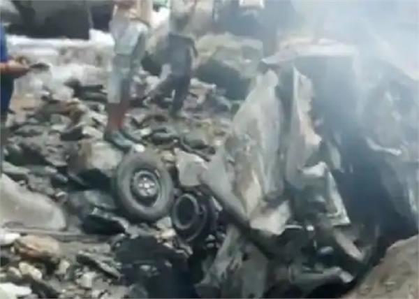 himachal pradesh car accident house 4 people death