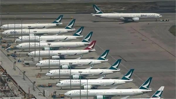 corona virus  airline cathay pacific  8 500 jobs  cuts