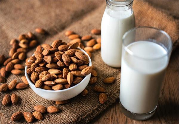almonds  milk  weight  eyes  strong bones