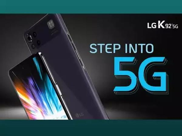 lg k92 5g launched