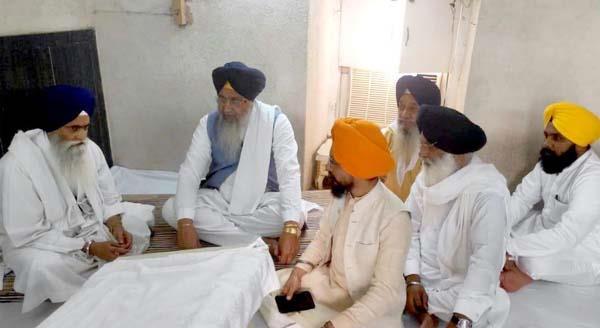 bhai longowal expressed grief death of bhai gurmeet singh