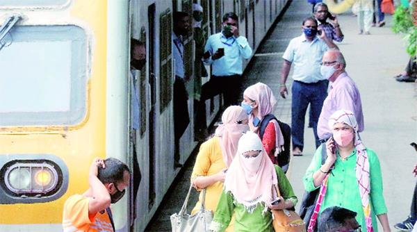now  women can board mumbai local trains during limited hours