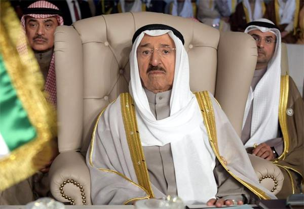 state mourning in kuwait sultan  s death in india