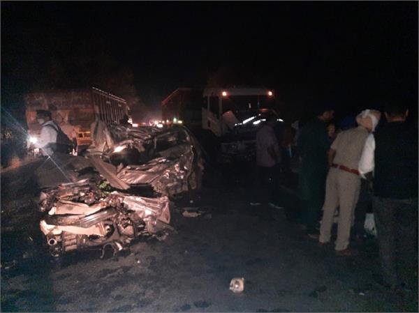 bathinda 5 death in road accident