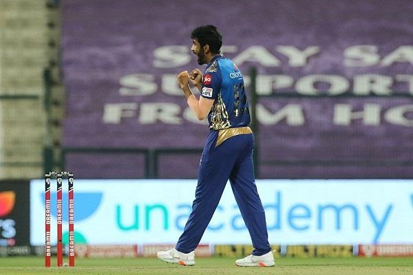 jasprit bumrah completes 100 wickets in ipl