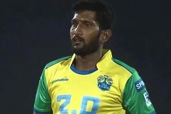 death of tamil nadu premier league player