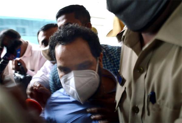 kerala cpi  m  secretary  s son arrested in drugs funding