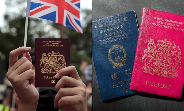 china cannot recognize passport of hong kong residents issued from britain