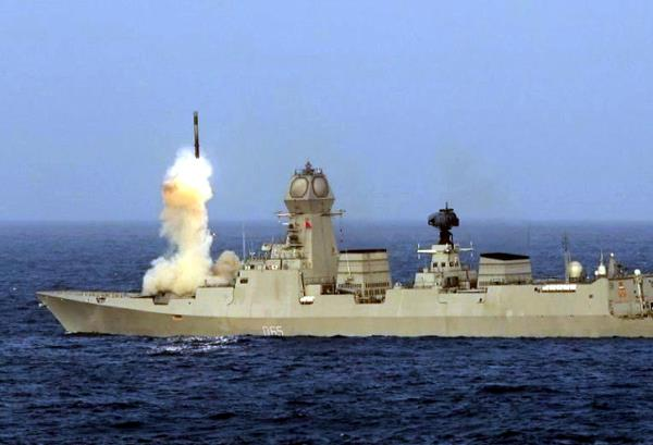 indian navy successfully tests brahmos supersonic cruise missile