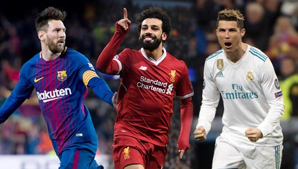 ronaldo  messi and salah in the race for fifa  s best player