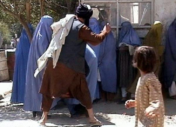 taliban turn violent against   working women