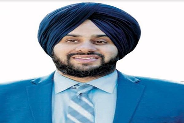 california appointed a sikh youth as stencils county supervisor