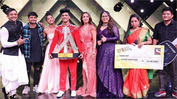 ajay singh aka tiger pop takes home india  s best dancer