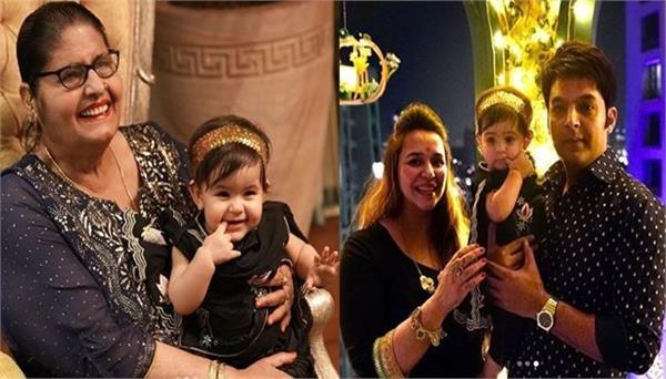 kapil sharma share his daughter anayra