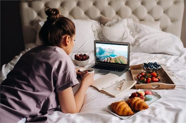 bed sitting eating habits damage