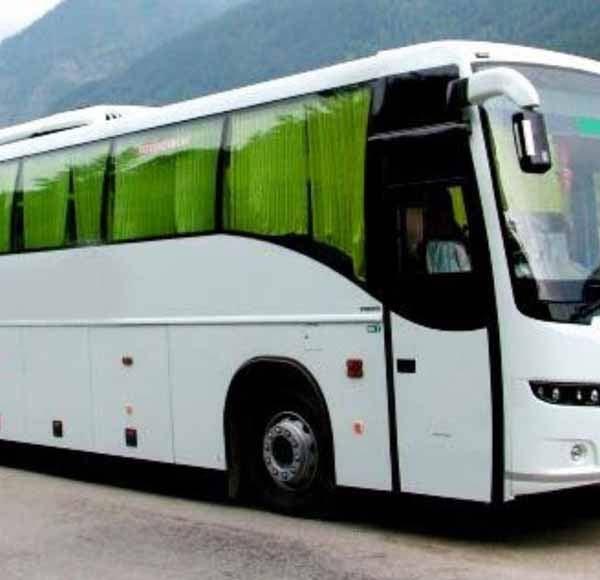 volvo buses of punjab roadways